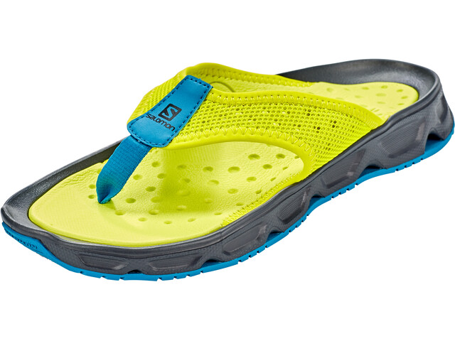 Salomon RX Break 4.0 Recovery Slides Herren evening primrose/ebony/fjord blue